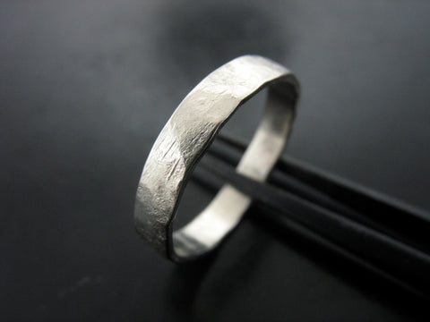 ZEUS RING PLATINUM 3MM WIDE