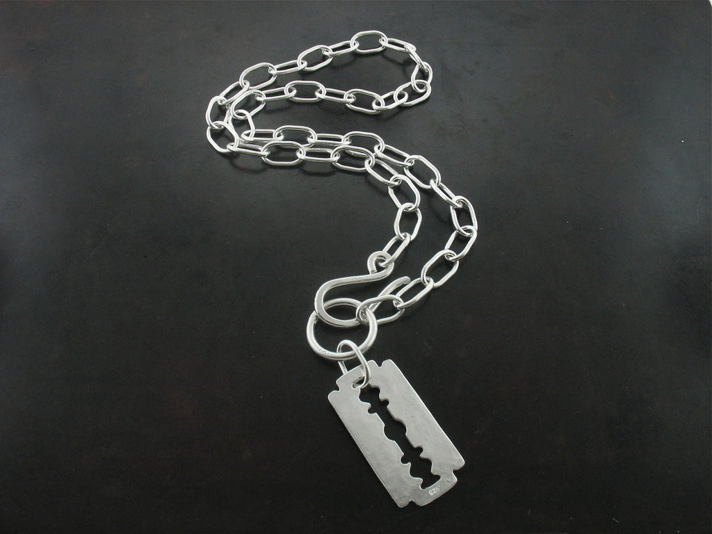 Razor Blade Necklace