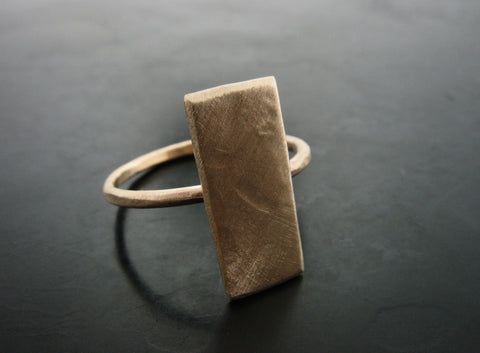 GOLD SHEET RING YELLOW GOLD