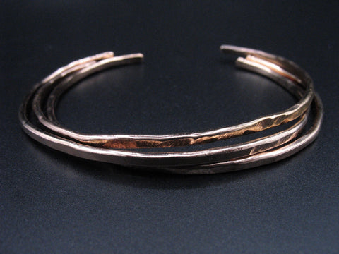 rose gold  #1 cuff set