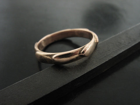 REGIUM RING ROSE GOLD 3MM WIDE