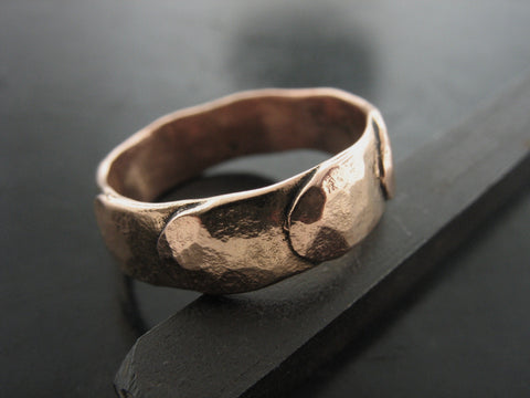 REGIUM RING ROSE GOLD 5MM WIDE