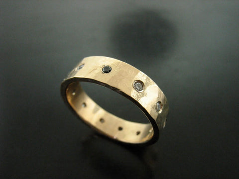 ALEXANDRE'S RING YELLOW GOLD 5mm WIDE