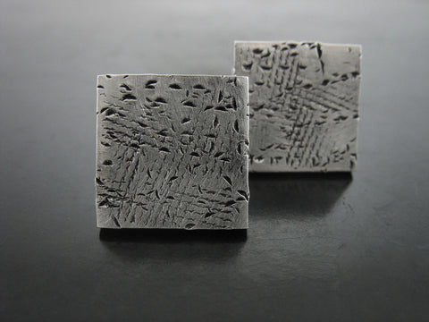 Half Inch Stained Square Studs