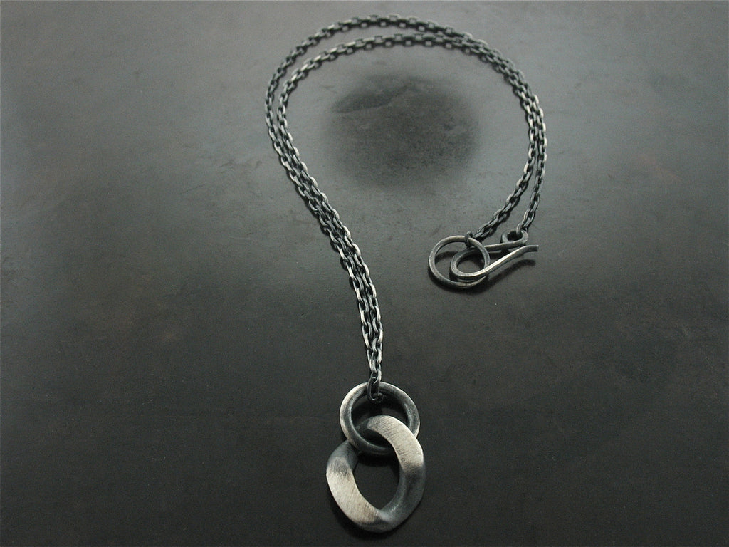 Curb Link Charm Necklace