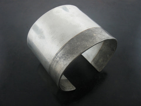 "Double Tone Hand Forged 2"" Cuff"