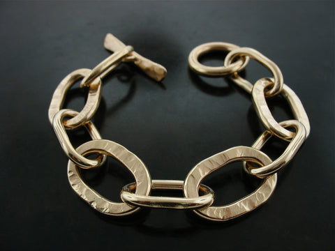 Pitbull Bracelet - Yellow Gold