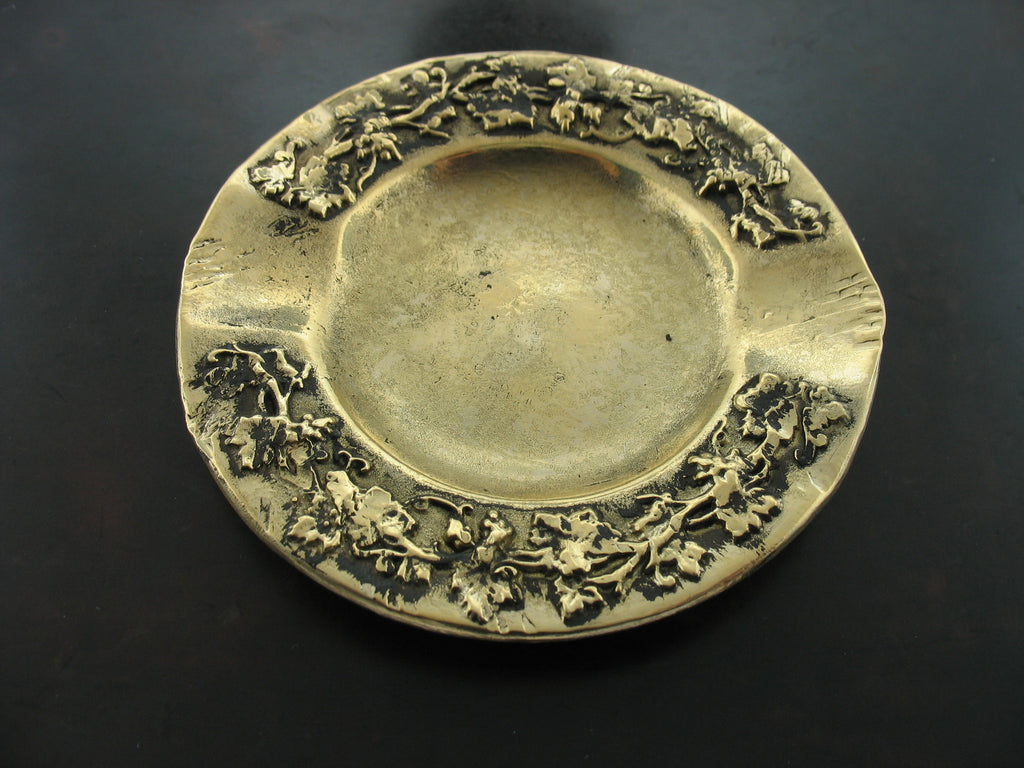 Ashtray - Yellow Bronze