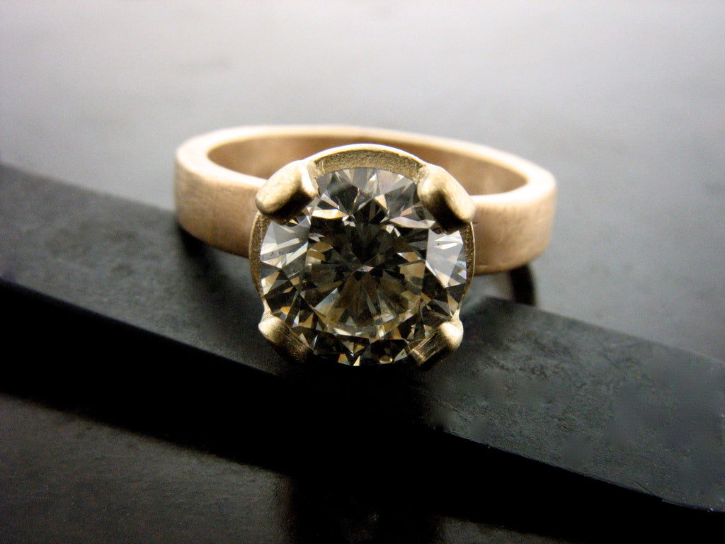 Aleksandra Engagement Ring- Yellow Gold