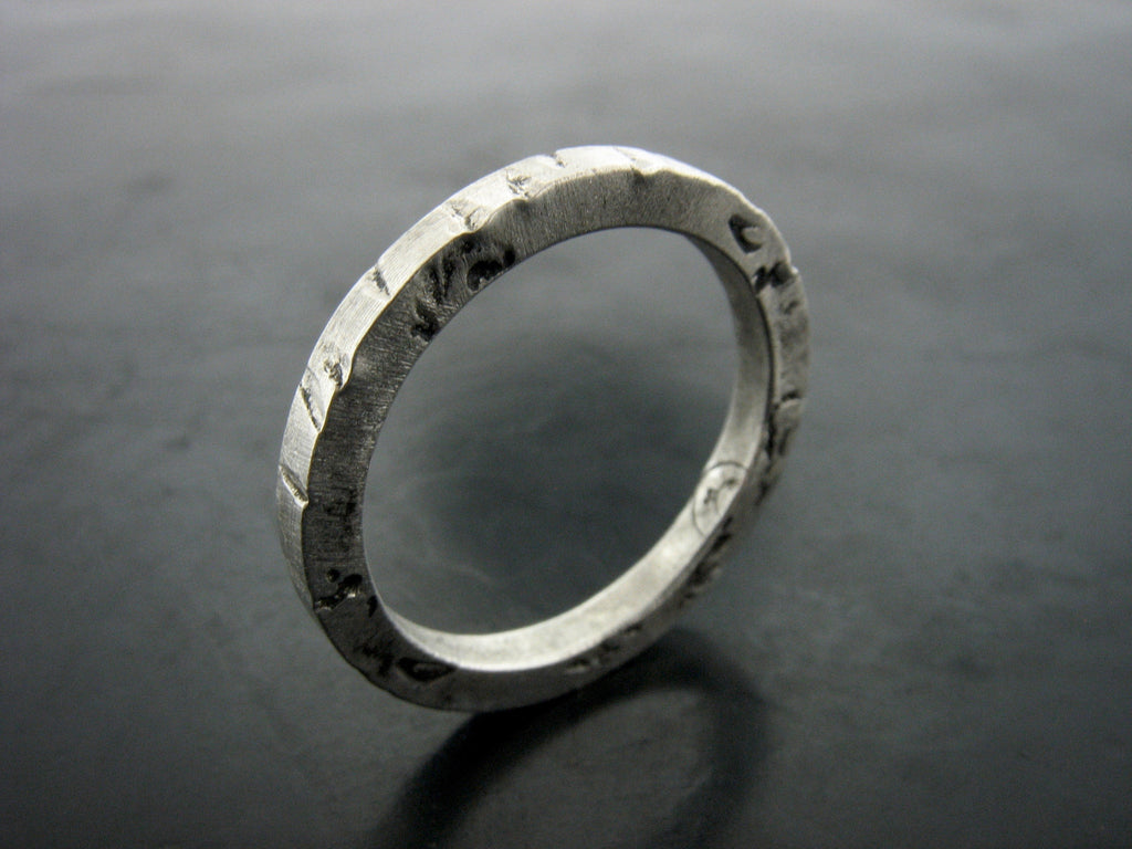TT1 Stackable Textured Ring