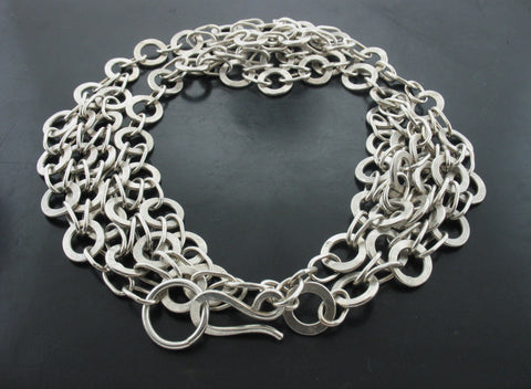 Signature Monk Link Necklace- ChainMaille