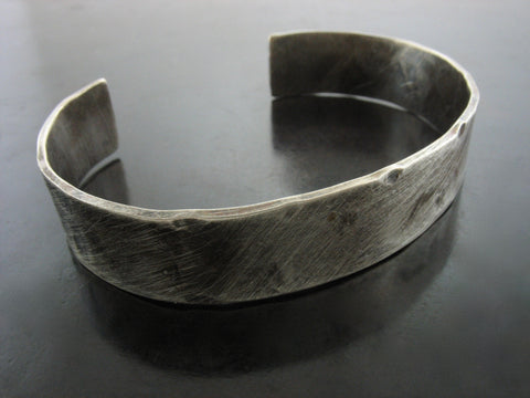Hammered Sanded Flat Cuff