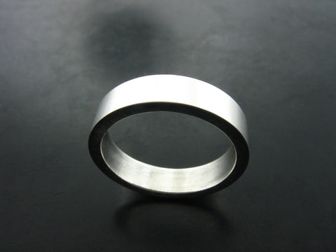 Jiou Ring Narrow - Sterling Silver