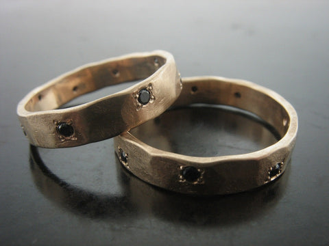Paul and Cesar's Wedding Ring Set Sold Individually