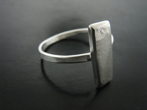 Bar Ring Sterling Silver