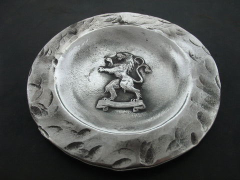Plate 1, Sterling Silver
