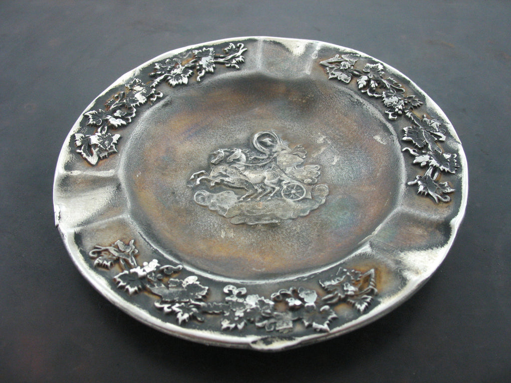 Plate 2, Sterling Silver