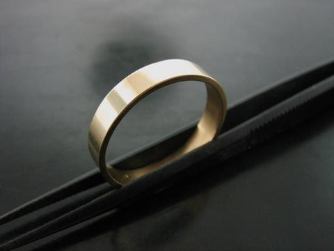 JIOU RING YELLOW GOLD 3MM WIDE