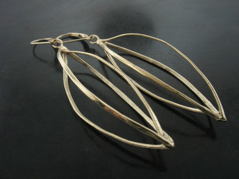 Elektra Earrings - Gold