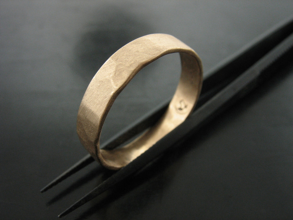 Zeus Ring  Yellow Gold 5MM wide