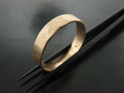 ZEUS RING - YELLOW GOLD - 5MM