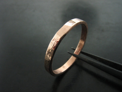 ZEUS NARROW RING - Rose Gold