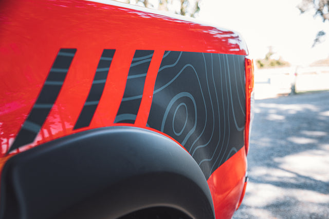 Ford Ranger RTR Red Graphics
