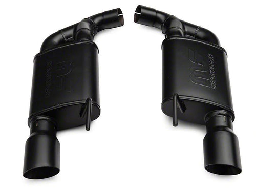 RTR TACTICAL PERFORMANCE STREET SPEC AXLE-BACK EXHAUST WITH BLACK TIPS (15-17 GT)
