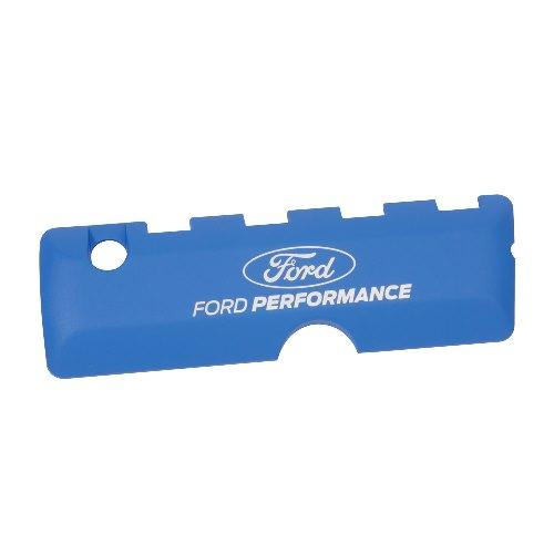 5.0L COYOTE BLUE COIL COVER: FORD PERFORMANCE LOGO