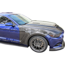 Load image into Gallery viewer, 2015-2017 Ford Mutang GT350 STYLE Fenders Vented (0.4 INCH WIDER)