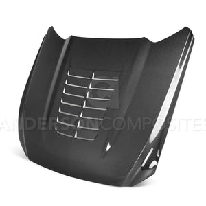 2015-2017 Ford Mustang GT500 STYLE Carbon Fiber Hood