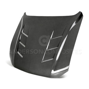 2018-2021 Ford Mustang Heat Extractor Carbon Fiber Hood