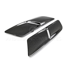 Load image into Gallery viewer, 2015-2017 Ford Mustang TYPE-OE Carbon fiber hood vents