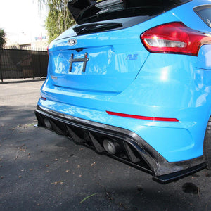 2016-2018 FORD FOCUS RS TYPE-AR REAR DIFFUSER