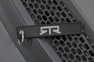 RTR EMBROIDERED FLIGHT KEYCHAIN