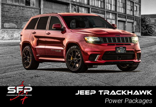 Jeep Trackhawk - Streetfighter Supercharger Clutched Pulley Upgrade (15 psi)