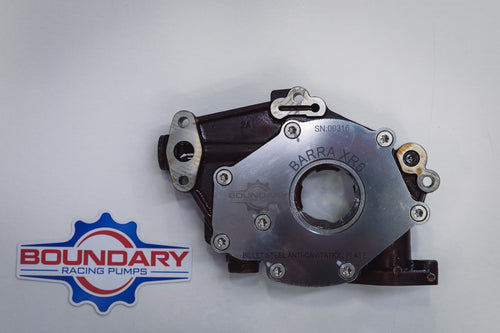 Barra XR6 Billet Steel Oil Pump Back Plate