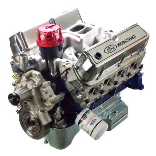 347CI 350HP CRATE ENGINE-SEALED RACING X2 CYLINDER HEAD