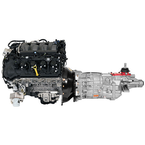 GEN 3 5.0L COYOTE POWER MODULE WITH 6 SPEED MANUAL TRANSMISSION