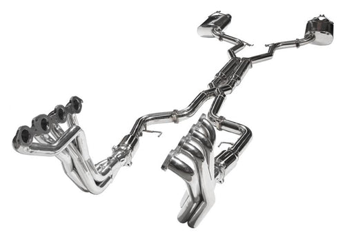 2SS Streetfighter Full Premium Sound 304 Stainless Steel /  Dual Tips / Ceramic Headers / 1 7/8 Inch
