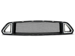 RTR GRILLE W/ LED ACCENT VENT LIGHTS (15-17 GT, ECOBOOST, V6)