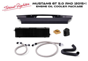 Streetfighter Engine Oil Cooler Package Mustang RHD 2015-