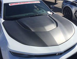2017-2019 CHEVROLET CAMARO ZL1 TYPE-LE DRY CARBON HOOD