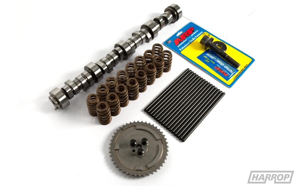Harrop Camshaft Kit (Cam, Double row springs, Push Rods, Cam gear, Bolts)