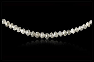Snehvidt Diamantcollier - <strong>18.25 ct.</strong>