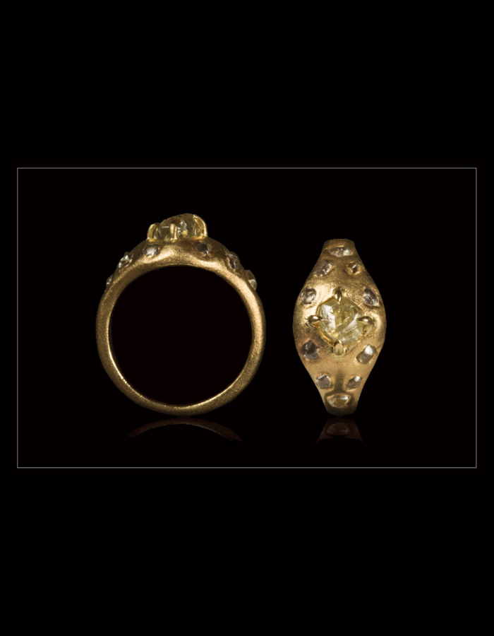 Bred Passion Guldring - <strong>1.25 ct.</strong>