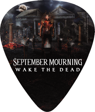 Wake The Dead Guitar Pick