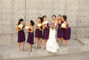 The Jersey Maid Convertible Bridesmaid Dress - Purple