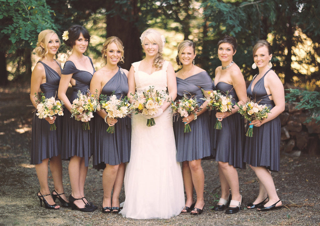 Infinity Wrap Convertible Bridesmaid Dresses by The Jersey Maid