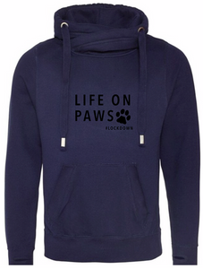 Navy Hoodie - Life On Paws